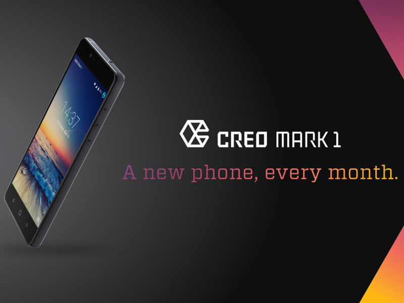 Creo Teases Mark 1 Smartphone, Promises Monthly Feature Updates