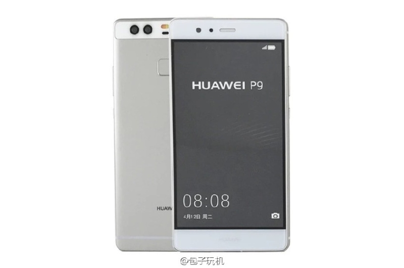 Huawei P9 Smartphone Leaked Yet Again in Images Ahead of Launch