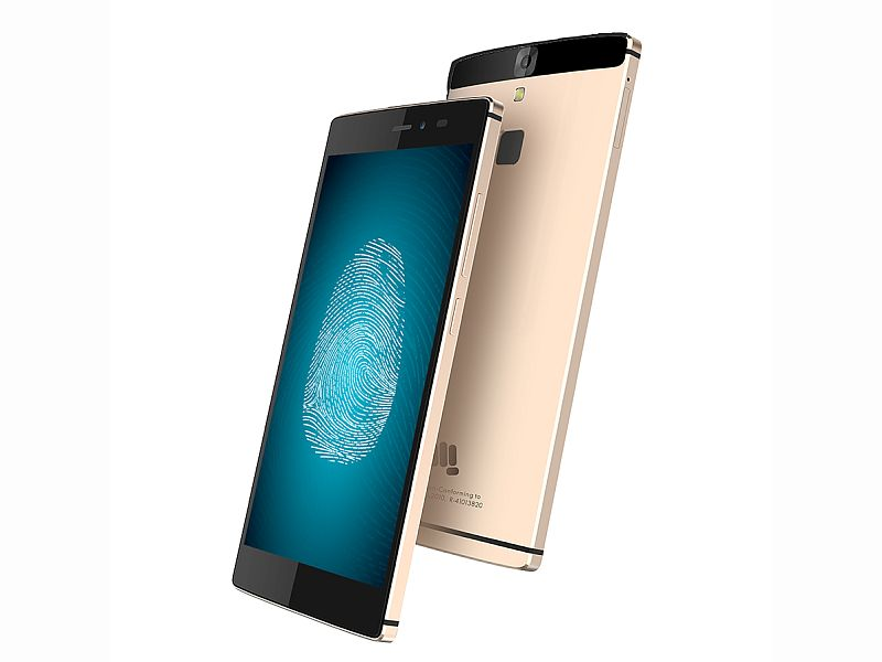Micromax Canvas 6 With Fingerprint Scanner launched at Rs. 13,999