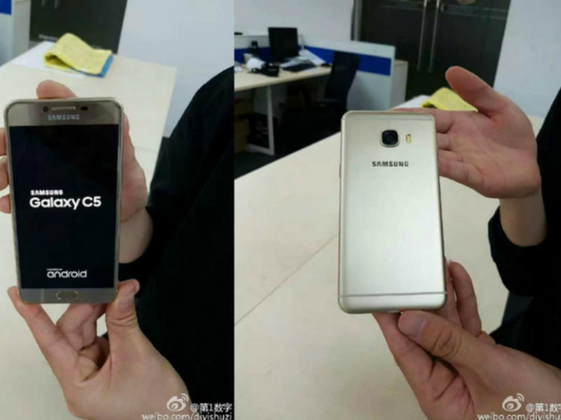 Samsung Galaxy C5, Galaxy C7 fee and specifications Leaked