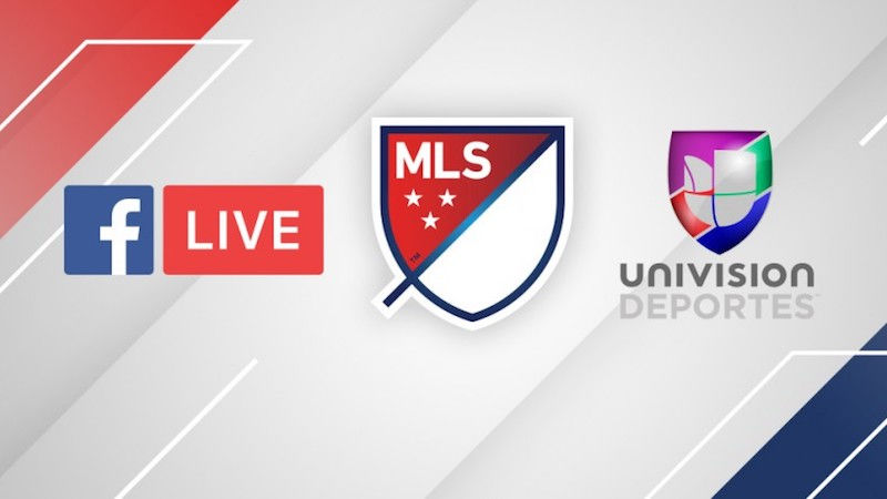 Facebook Signs Soccer Live-Streaming Deal With MLS, Univision