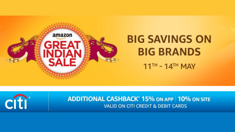 Amazon Great Indian Sale From May 11 to May 14: Great Offers to Look Forward to