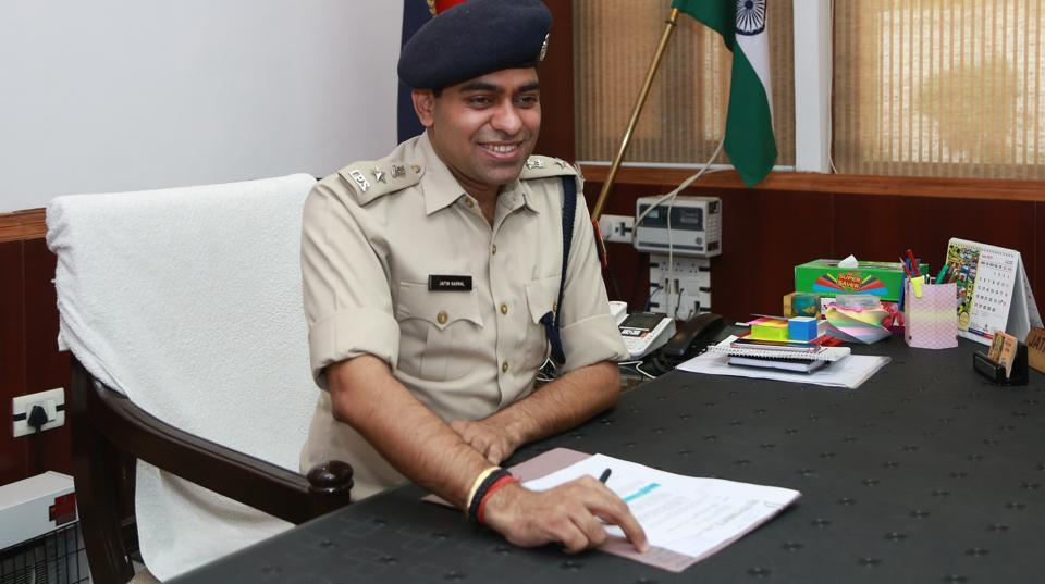 Top cop Jatin Narwal is the custodian of law and order of Delhi University he once topped