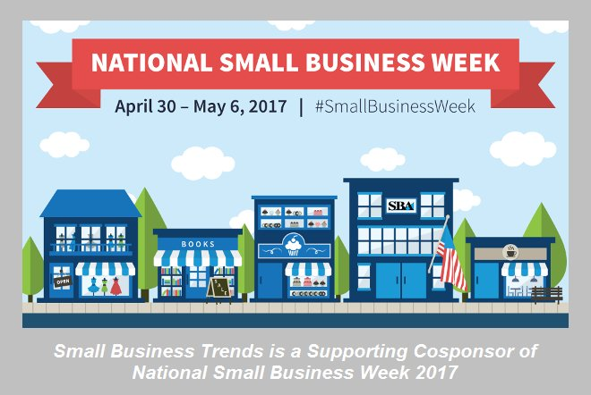 Really Big List of National #SmallBusinessWeek Events