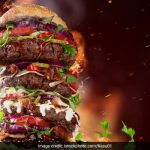 The Godfather Burger With 12 Layers of Meat and Cheese is Trending in Mumbai