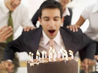 Blowing out candles drowns cake in germs