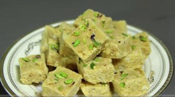 Express recipe: How to make Besan Nariyal Barfi