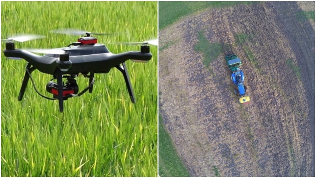 Drones, tractor hacks and robotic sprayers: the technology of farming