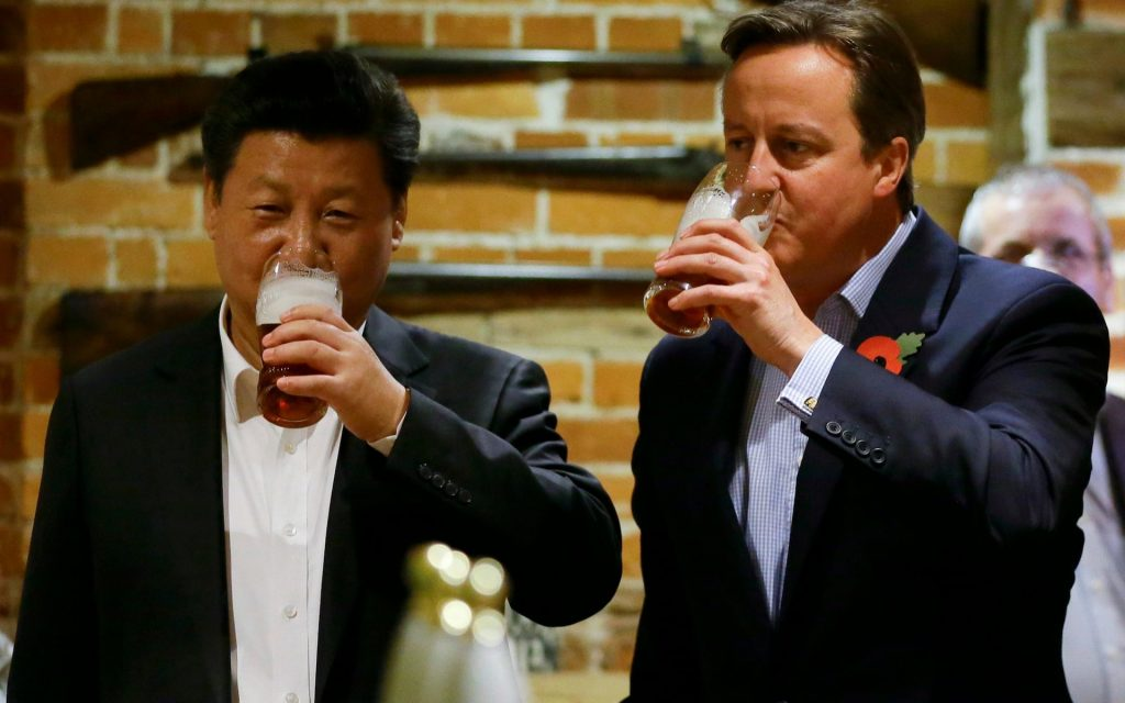David Cameron to set up £750m UK-China investment fund