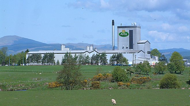 Arla unveils Lockerbie plant investment