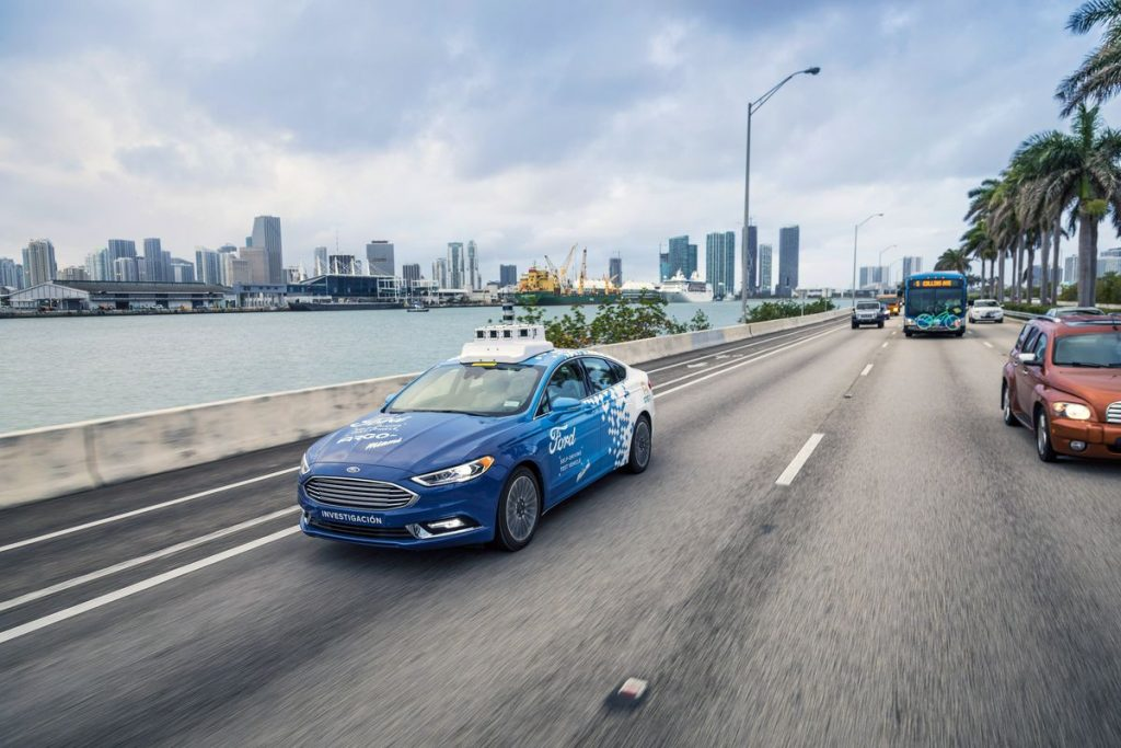 Ford is setting up for an autonomous ride-hail and delivery business in Miami