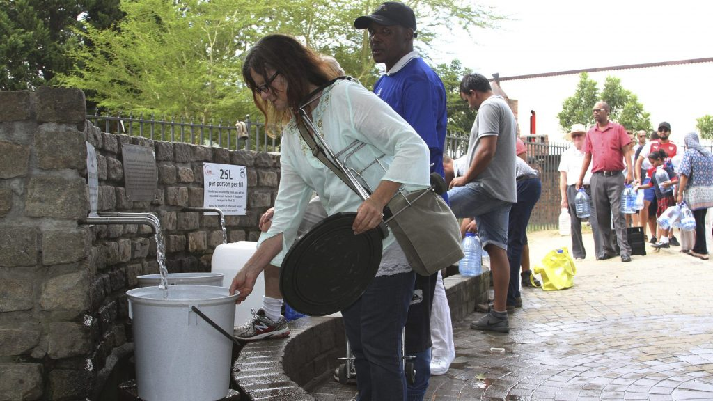 Cape Town's water crisis is already posing a risk to public health