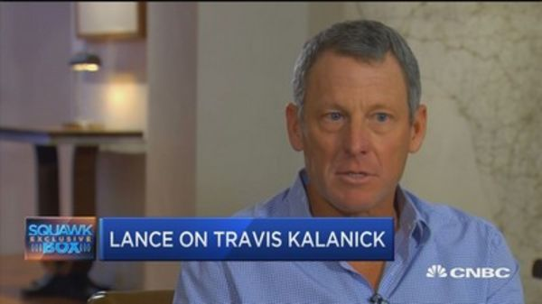 Lance Armstrong says his investment in Uber 'saved our family'